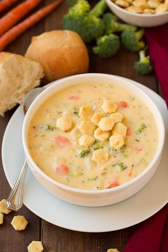 Cheesy Vegetable Chowder | Cooking Classy