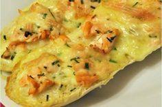 Baguettes gratinées au saumon Weight Watchers, un petit plat complet très facile et simple à réaliser pour un repas improvisé accompagné d'une bonne salade.