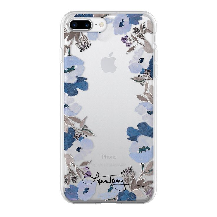 The blue and silver Floral Crown iPhone7PLUS case is part of my new colorful designer collection. Free Shipping, all day, every day!