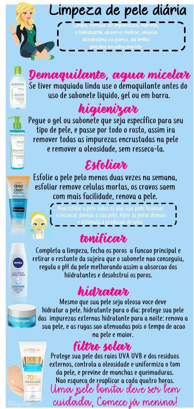 Vocês sabem o passo a passo da limpeza completa de pele meninas? Eu sempre tive duvidas da sequência e depois que aprendi , minha pele respondeu muito bem e esta bem mais bonita. Acreditem da resultados! http://www.bllogelas.com.br/2017/06/limpeza-de-pele-passo-passo.html #beleza, #pele oleosa, #dicasdebeleza, #cuidadoscomapele, #pele