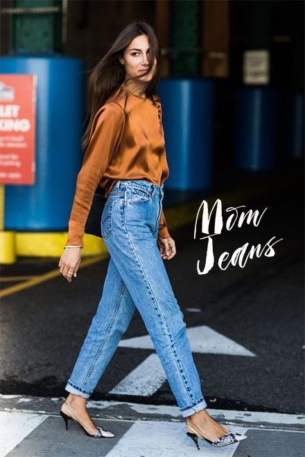 how to style mom jeans