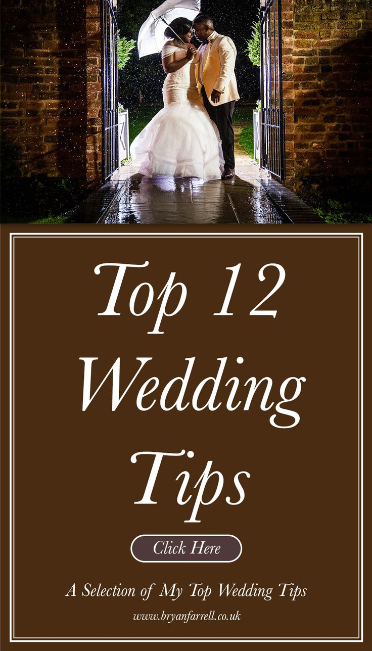 Top Wedding Tips Plan your perfect 2020/21 wedding in