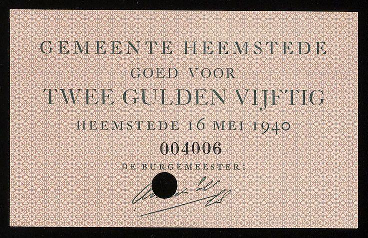 1940 nepgeld