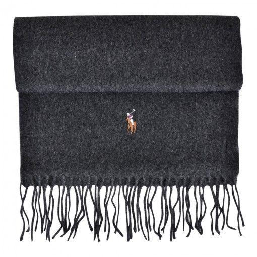 POLO RALPH LAUREN WOOL SCARF WINDSOR GREY  http://www.fernerjacobsen.no/sortiment/herre/assessoirer/polo-ralph-lauren-scarves-wool-426107-a67-a1809-ab685