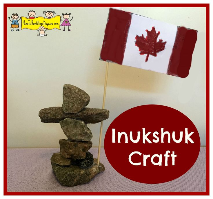 Inukshuk Craft - How To Run A Home Daycare