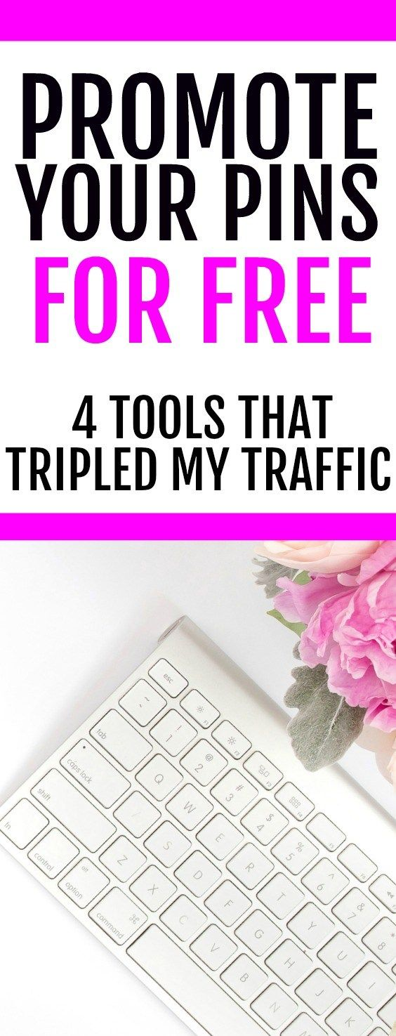 Grow your Pinterest traffic and get more exposure for your pins with these tips and tricks. These FREE ways to boost your blog traffic are incredible.If you want to grow your blog traffic quickly, start using these four tools today! I increased my page views to 35,000 in just 3 months using this strategy. If you want to learn how to promote your pins without paying, check out this post with all the details. 10 minutes a day to grow your traffic and become a successful blogger.