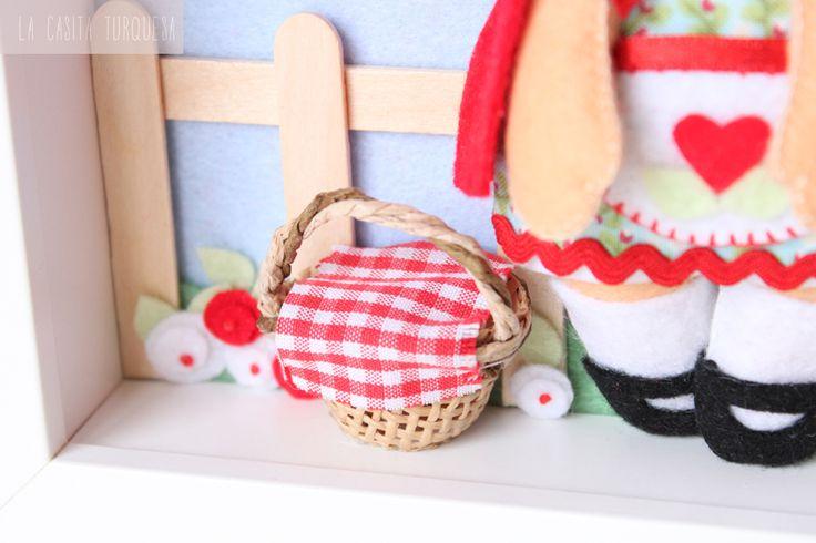 Cayetana -detalle- Cuadro personalizado hecho a mano
