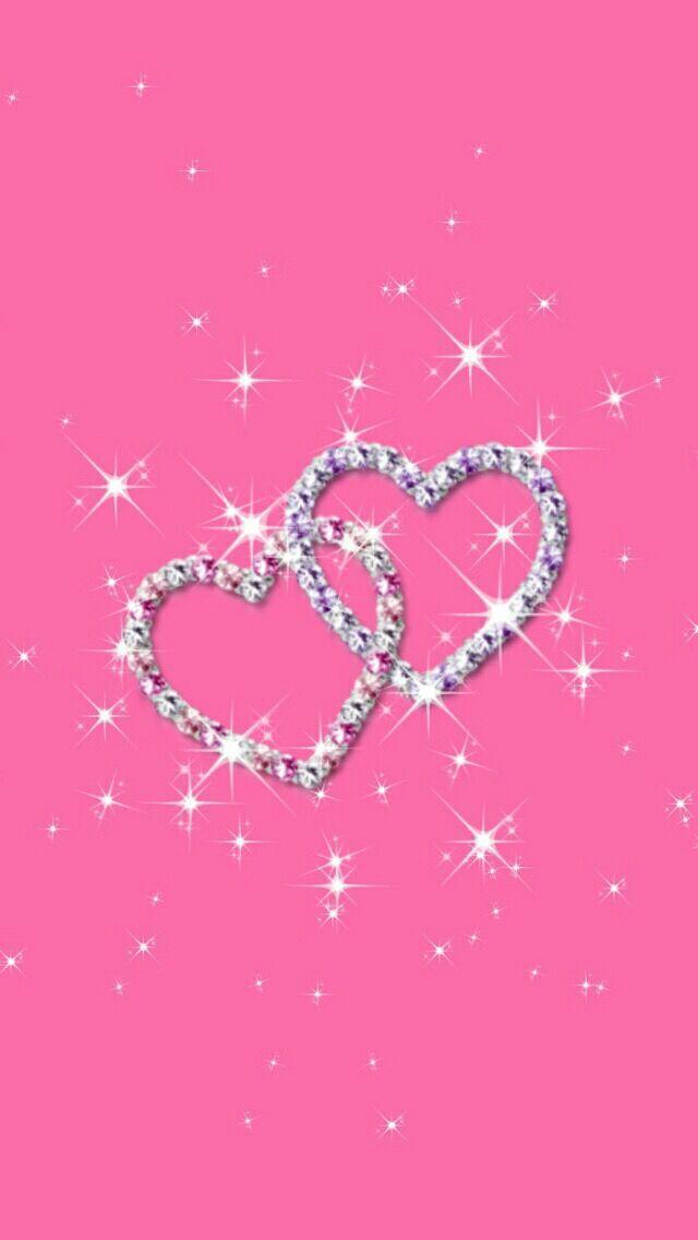 Hintergrundbilder Hd Cute Pink Hintergrund Heart Wallpaper Bling Wallpaper Love Wallpaper