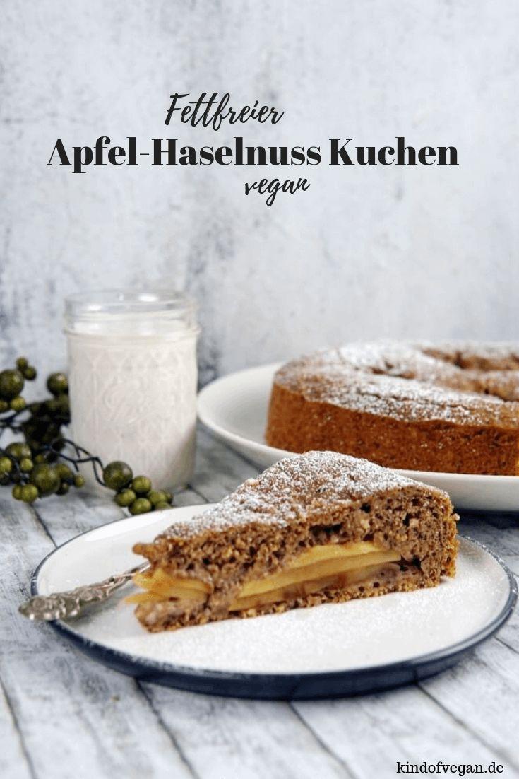 Apfel-haselnuss kuchen