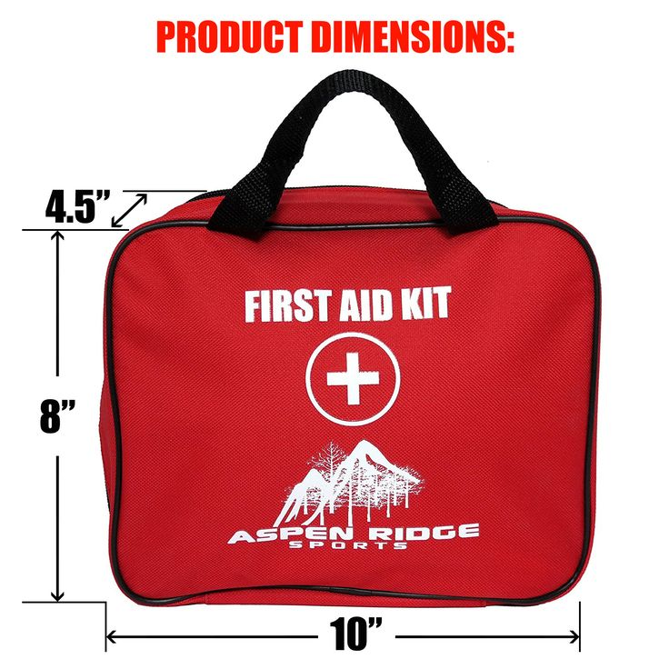 First Aid Kit- For Trauma Injury, Auto Emergency Kit, 72 pcs First Aid kit including trauma shears, large bandages, tourniquet and CPR Instructions