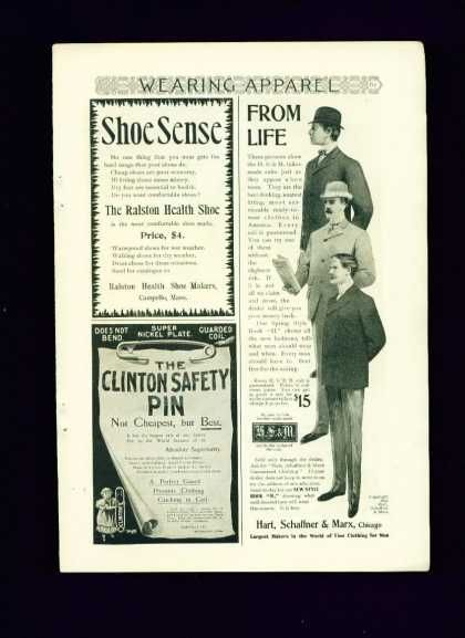 Hart Schaffner & Marx Tailor Made Suits C 1/2 Pg (1895)