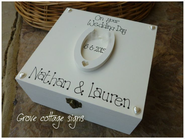 Wedding gifts www.grovecottagesigns.co.uk #handmade #grovecottagesigns #hernebay #wedding #gifts #memoryboxes