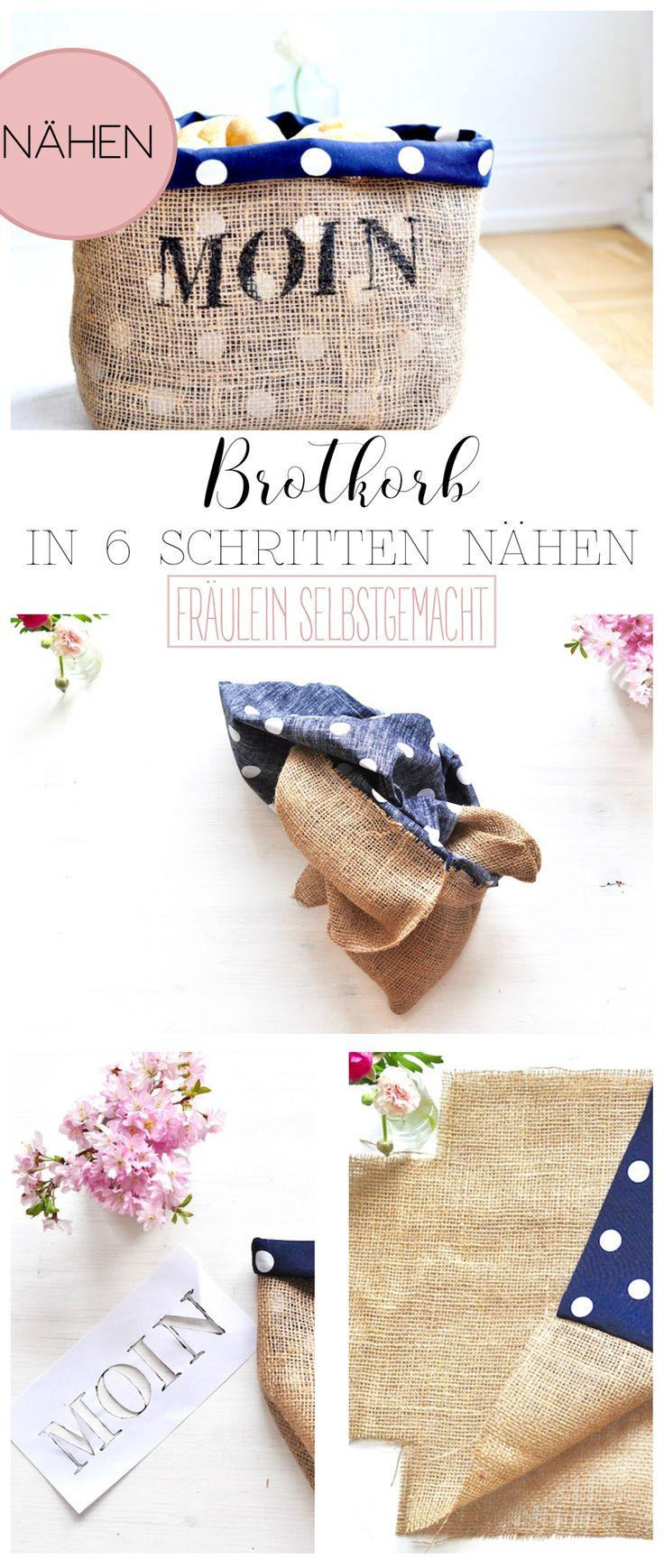 Brotkorb nähen – Anleitung von