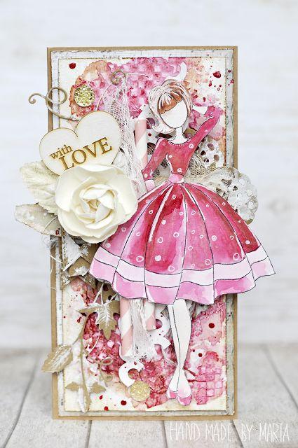 Różowa i czerwona lala
