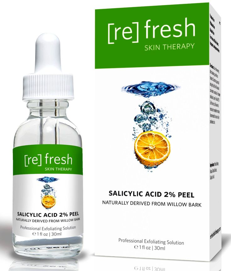 Salicylic Acid Peel 2% for Acne Treatment - Daily Gentle Treatment for Acne Spots, Organic, Naturally Derived from Willow Bark 1 oz / 30ml -- Read more  at the image link.
