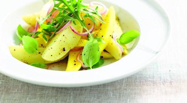 Zomerse aardappelsalade