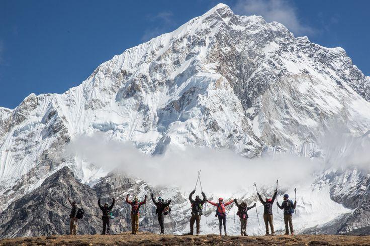 Everest Basecamp Trek Photos - Views of Nuptse