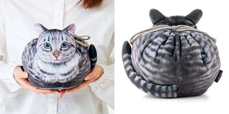 Au Japon, cette boutique commercialise des sacs en forme de chats ultra réalistes