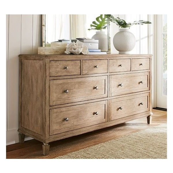 Pottery Barn Sausalito Extra Wide Dresser   Seadrift ($1,599) ❤ Liked On  Polyvore Featuring Home, Furniture, Storage U0026 Shelves, Dressers, Pottery  Barn ...