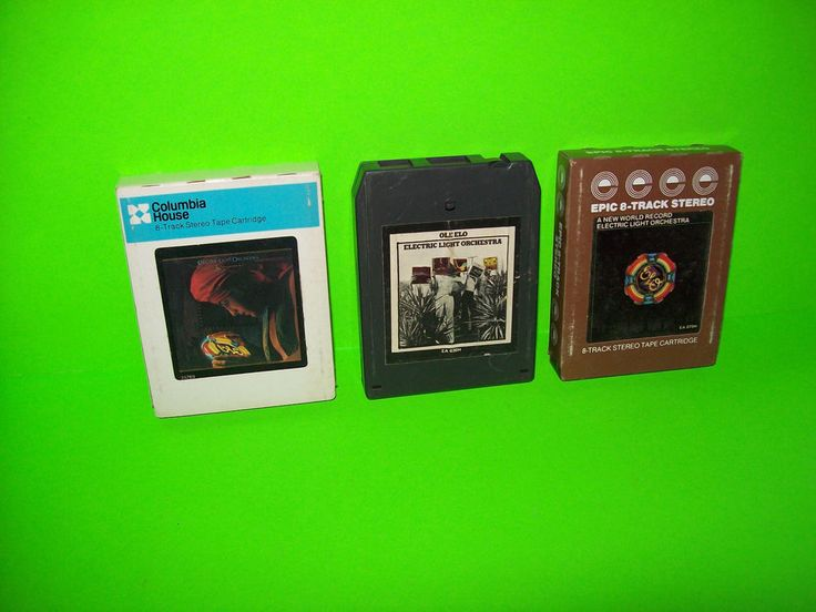 ELO (2) 8-TRACK TAPES ELECTRIC LIGHT ORCHESTRA GREATEST HITS + OUT OF THE BLUE #PopRock