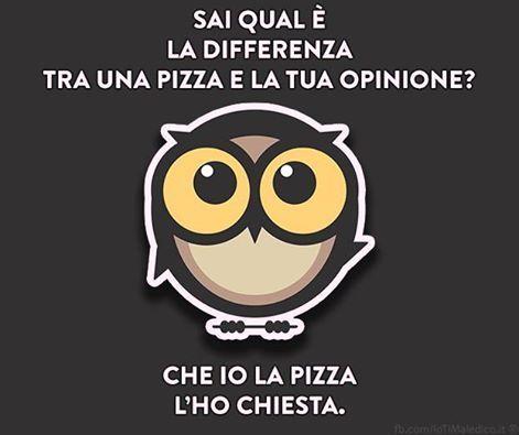 Pizza/Opinione