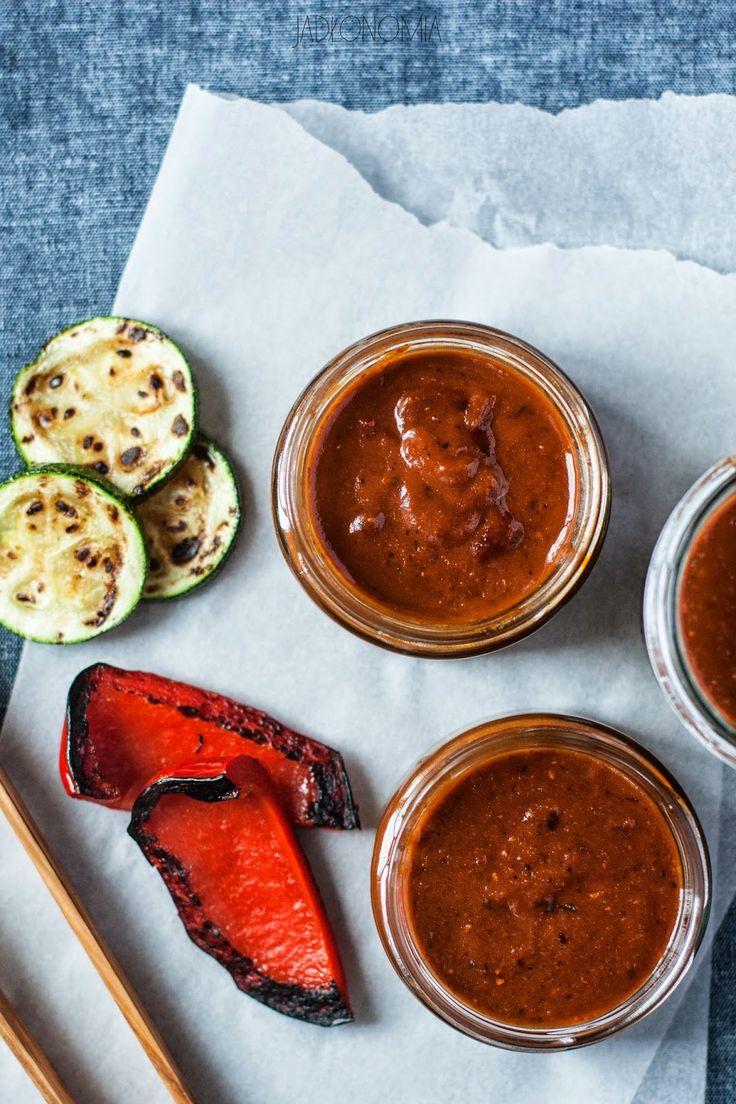 jadłonomia · roślinne przepisy: Sosy na grilla! BBQ