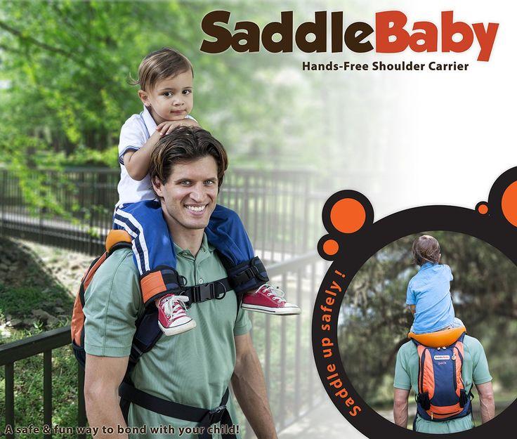 SaddleBaby *pack (Backpack Model) - Shoulder Carrier