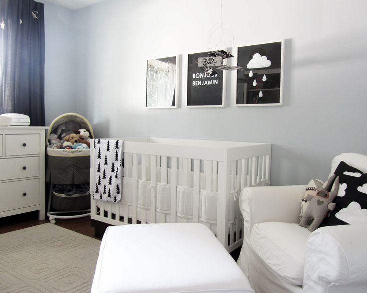 19 best chambre enfant et b b noir et blanc images on for Chambre gender