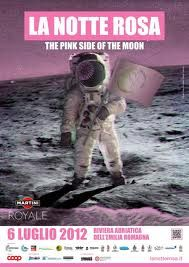 Pink night in Italy- The Pink Side of the Moon