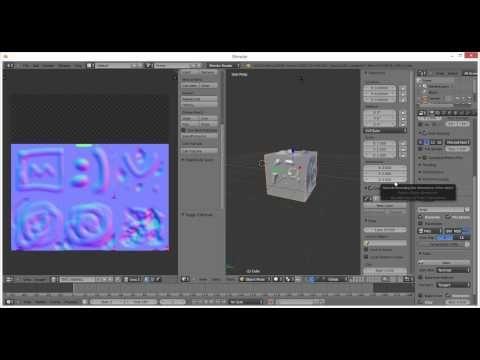 Blender Tutorial : Part 17 - Normal Mapping (Blender) - YouTube