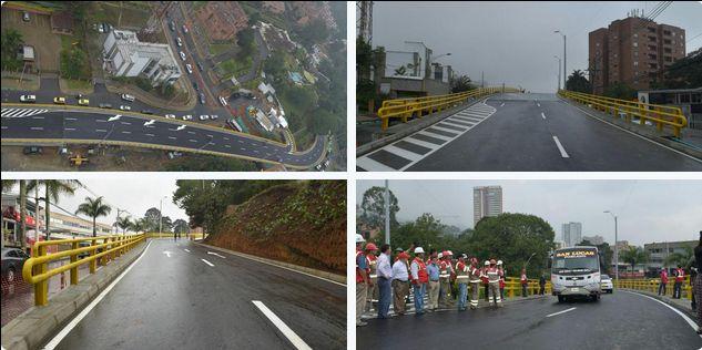 ¡El puente de la Transversal Superior con Los Balsos, ya está en funcionamiento! #ElPoblado #Medellín #Movilidad