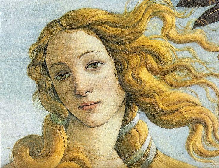 """Будто на мучения идёт богиня в земную жизнь...С.Боттичелли.""""Рождение Венеры""""…"""