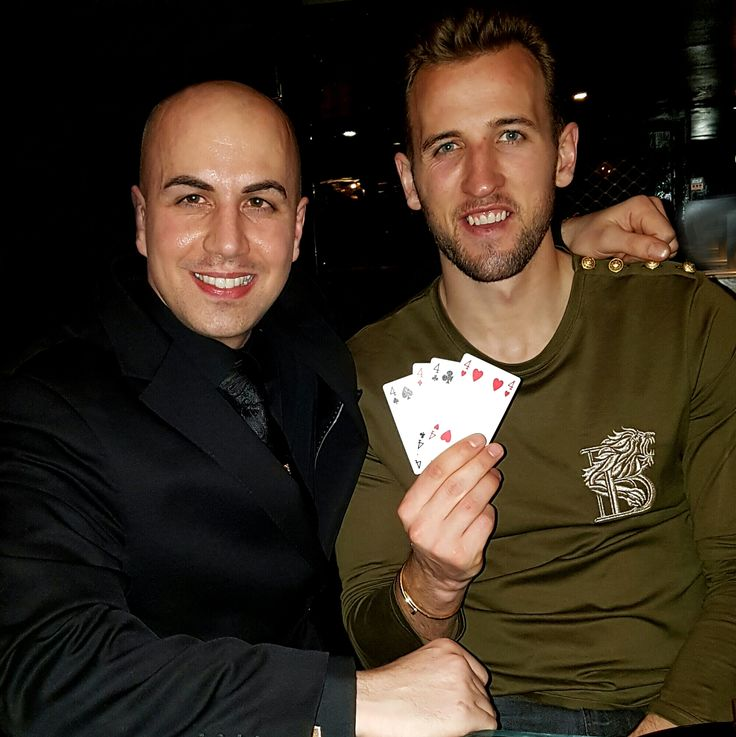 Enjoyed performing for Harry Kane tonight! #HarryKane #Footballer #TottenhamHotspur #Spurs #Magic #Magician #LondonMagician #MindMagician #EventProfs #Events #Celebs #CelebStyle #Celebrity #Celebrities #CelebSpotting #EventPlanner #PartyPlanner #EventPlanning #Talnts #LondonEvents #Events #PartyPlanner #PartyPlanning #PlayingCards #EventProfessionals #EventDesign #EventStying #MindMagic #FourOfHearts #FourOfDiamonds #COYS #KANE