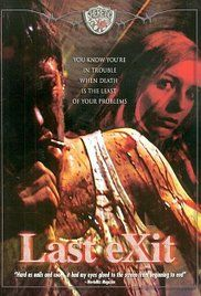 Last Exit 2003 Movie Online. Last Exit tells the story of Nigel, an English man, out on his luck arriving in Copenhagen to start a new life. All goes very dark when he falls for a beautiful working girl, Tanya, and he helplessly gets sucked into a nasty underworld.