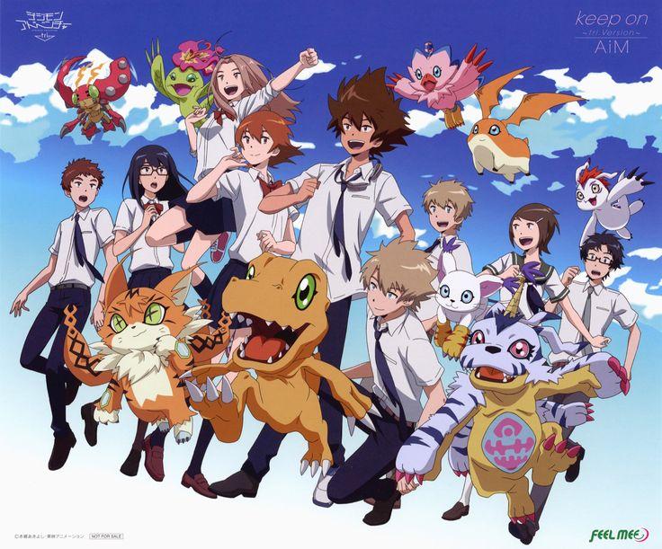 Digimon adventure tri ED AiM - Keep On ~tri ver.~ @bluecttncndy