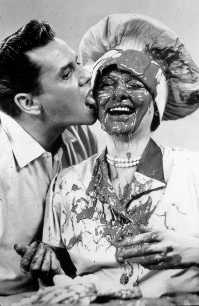 Lucy & Desi in 'I Love Lucy'