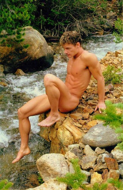 Fag boys hiking naked take