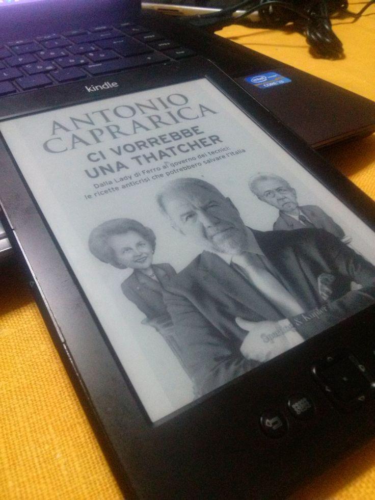 Antonio Caprarica - Ci vorrebbe una Thatcher