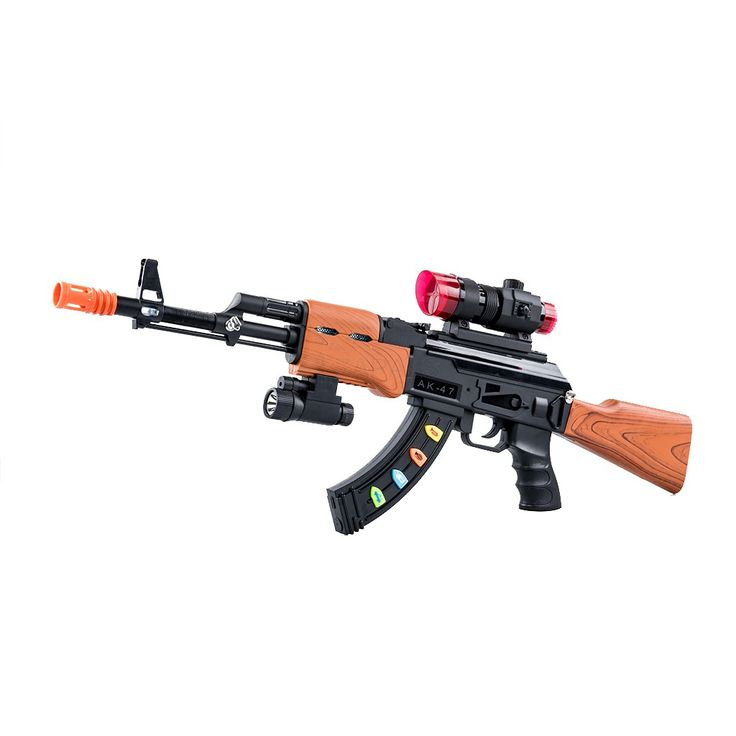 Electronic Super Nerf Sniper Rifle with Scope and Light