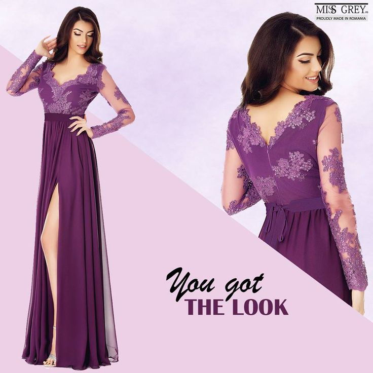 Enjoy the new shade of purple, created by Pantone in memory of Prince. It's ideal for glamorous evening dresses, the purple Darma dress being a perfect example