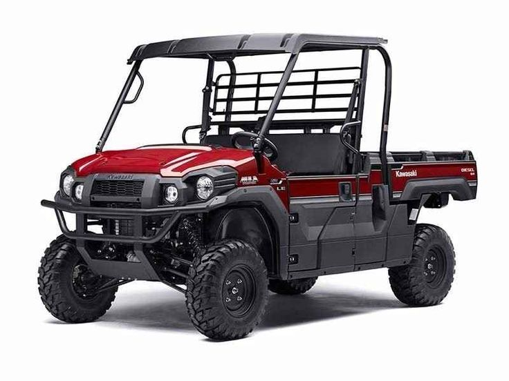 New 2017 Kawasaki Mule PRO-DX EPS LE Diesel ATVs For Sale in New Jersey. The Kawasaki Difference: Kawasaki StrongThe 2017 Mule PRO-DX is our powerful, most capable diesel Mule Side x Side ever. Built on the same rugged platform as the Mule PRO-FX, this innovative Side x Side comes equipped with the largest cargo bed in class all while offering comfortable full-size three-passenger seating.