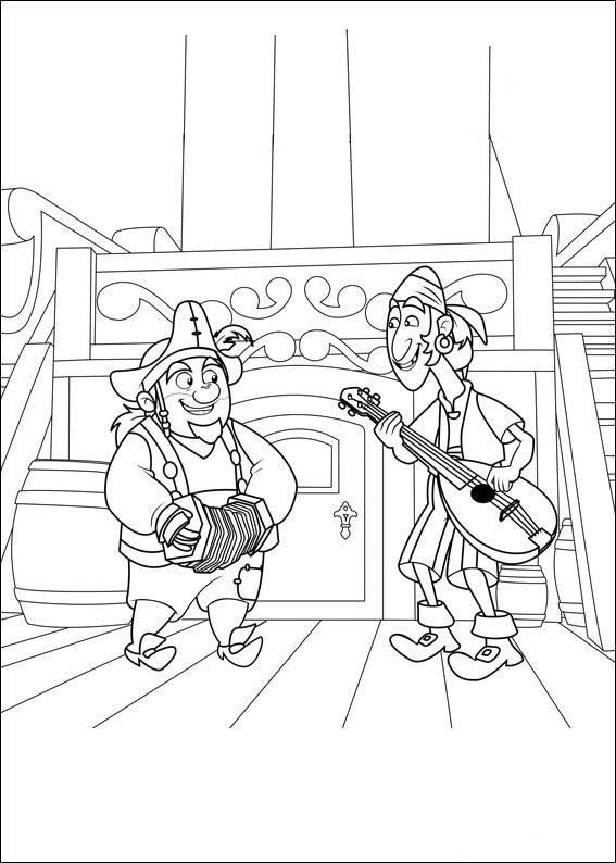 Jake Y Los Piratas De Nunca Jamas 7 Dibujos Faciles Para Dibujar Para Ninos Colorear Wenn Du Mal Buch Piraten Ausmalen Fur Kinder