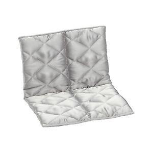 Mini Quilted Handbag Shaper Platinum