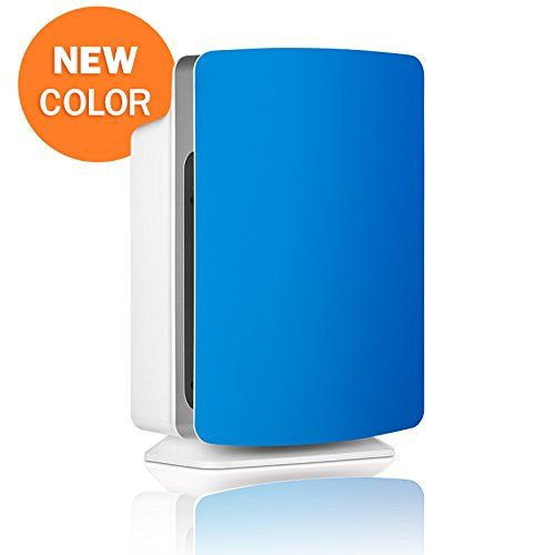 alen air purifier with hepapure filter for allergies and dust electric blue pure 1pack - Alen Air Purifier