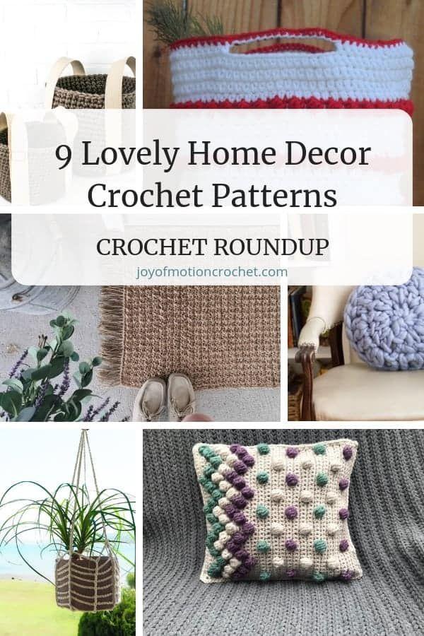 9 Lovely Home Decor Crochet Patterns Crochet Roundup Crochet