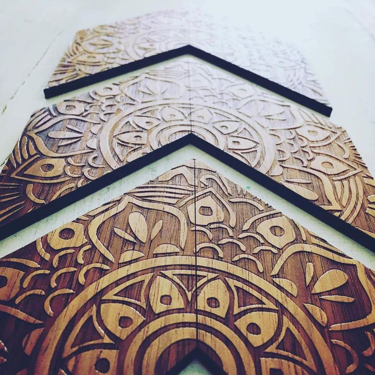 Zylo Wooden Wall Art  #Zylo #australianmade #handmade #homewares #home #decor #wood #tasmanianblackwood #mandala #detail #wallart #art #wall #arrow