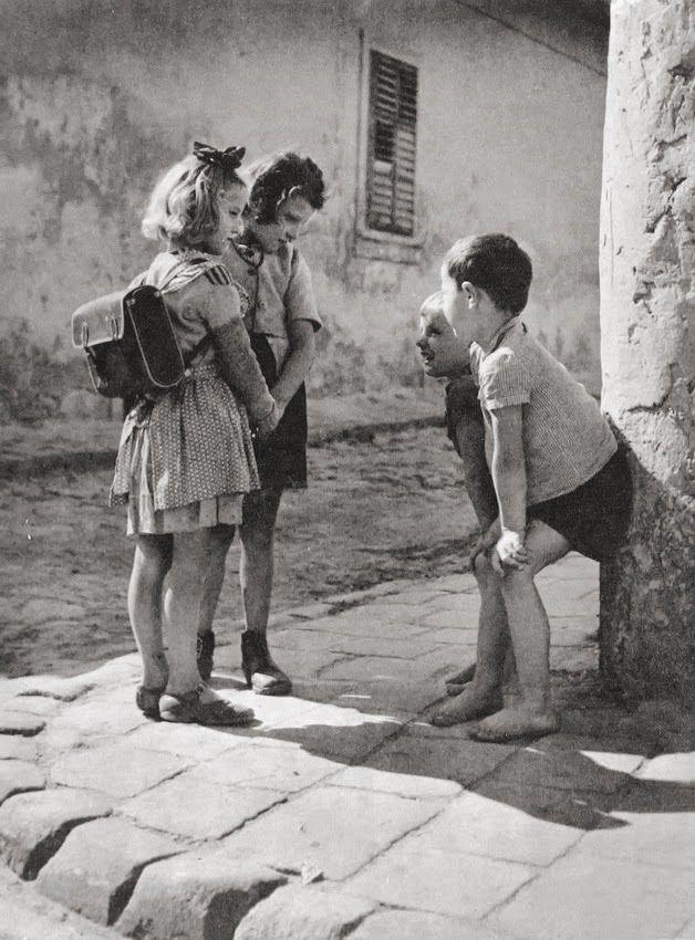 Boys and girls, Budapest 1955 Photographer: Thomas (Tom ...