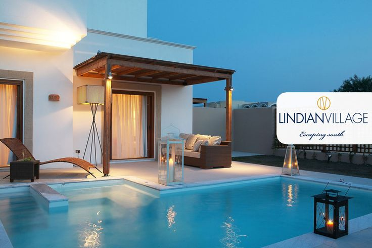 Your watery haven for memorable vacations in #Rhodes, offering private garden & pool!  Read more at lindianvillage.gr