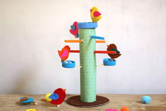 DIY Bird Feeder Play Set (via Bloglovin.com )