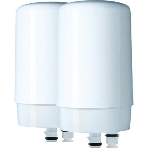 Brita Tap Water Filter, Water Filtration System Replacement Filters For Faucets – White – 2 Count #Brita #Water #Filter, #Filtration #System #Replacement #Filters #Faucets #White #Count